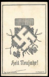 Austria NSDAP 1921! Nazi Party Deutsch-Oesterreich Propaganda Card 90621
