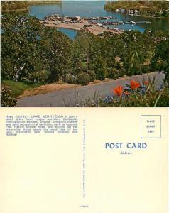 Lake Berryessa Spanish Flat Resort, Napa County, California, CA Chrome