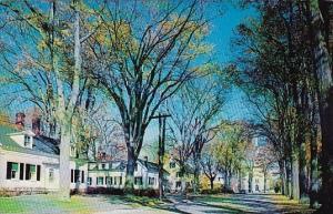 Maine Yarmouth Portland Street