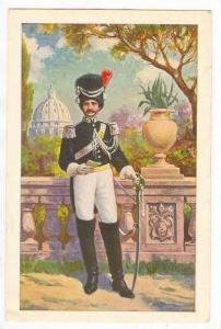 Guardia Svizzera - Ufficale dei Gendarmi in alta uniforme, 00-10s