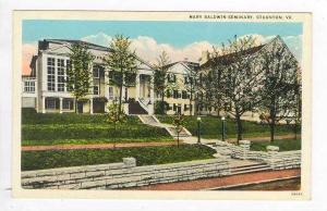 Mary Baldwin Seminary, Stanton, Virginia, 1910s