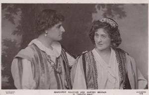 Margaret Halston in Twelth Night Shakespeare Play Vintage Real Photo Postcard