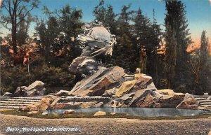 Bern Weltpostdenkmal Switzerland Unused