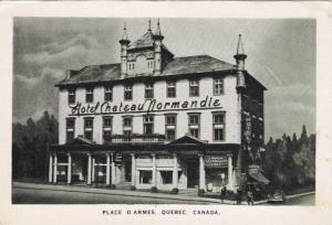 Place D Armes, Quebec, Canada, 40-60s