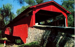 PA - Allentown. Bogert's Covered Bridge