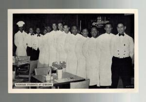 Mint Postcard Black Americana Tuskegee Institute Alabama Students at Obrien's