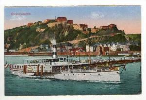 Steamship, Ehrenbreitstein, Germany, 00-10s