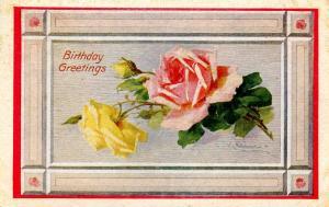 Greeting - Birthday.   Artist: Catherine Klein