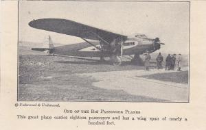 Early Tri-motor Commericial Airplane PATRIOT , New York City, 1930s