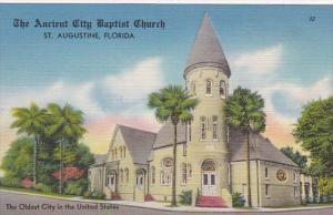 Florida St Augustine The Ancient City Baptist Church