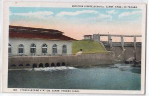Hydro-Electric Station, Gatum, Panama Canal