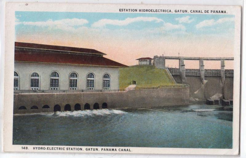 Hydro-Electric Station, Gatum, Panama Canal