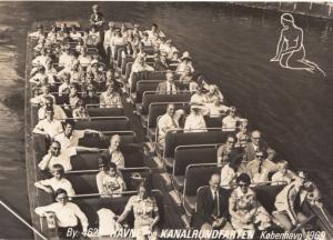 Havne og Kanalrundfarten, Kobenhavn, 1969, unused RP Real Photo Postcard