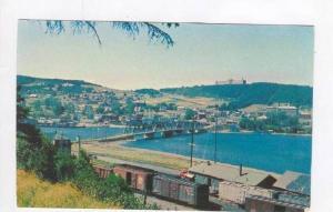 Le Village de Gaspe, Quebec, Canada, Train Station, 50-60s