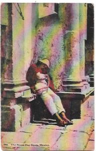 Mexico 1920.  Noon day Siesta.  Great stamp.