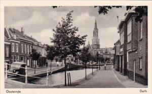 Netherlands Delft Oosteinde Real Photo