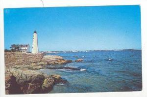 Oceanside View, New England Lighthouse, 1940-1960
