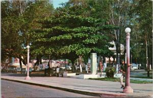 Duarte Park Domincan Republic 1960s Vintage Postcard D73