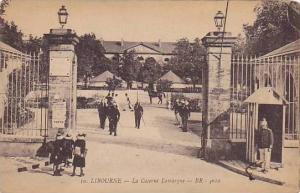Entrance, La Caserne Lamarque, Libourne (Gironde), France, 1900-1910s
