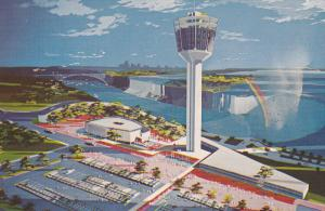 Seagram Tower and Crow's Nest, Niagara Falls, Ontario, Canada, 40-60´s