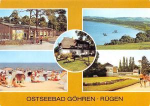 Ostseebad Goehren Ruegen Konzertplatz Steilkuste Monchguter Heimatmuseum