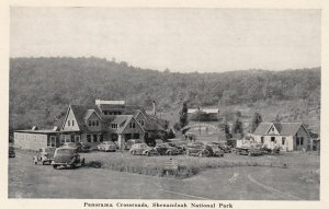 Shenandoah National Park , 1930s ; Panorama Crossroads