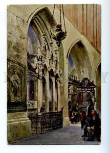 177027 POLAND Kosciuszko Tomb Ladislaus by KOSSAK Vintage PC