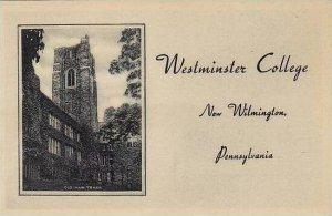 Pennsylvania New Wilmington Westminster College Old Maier Albertype