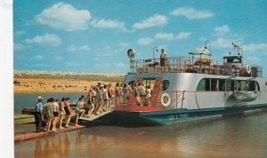 LAKE TEXOMA , Texas, 1940-60s; Excursion boat