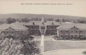Arkansas Russellville Mens Dormitory Arkansas Polytechnic College Albertype