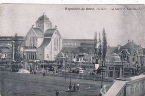 Exposition Universelle Bruxelles 1910 La Section Allemande