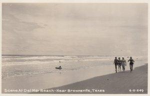 RP: BROWNSVILLE , Texas , 1930-40s ; Del Mar Beach
