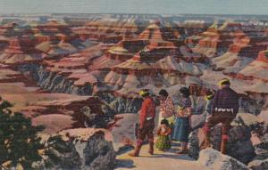 Arizona Grand Canyon With Hopi Indians Curteich