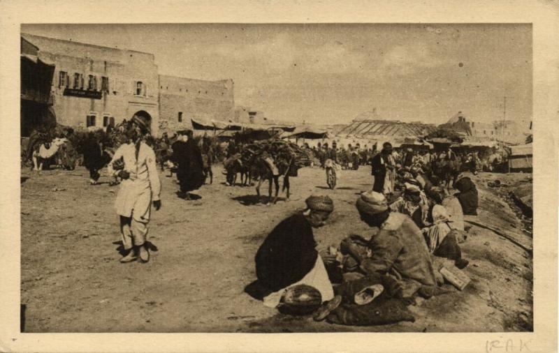 iraq, MOSUL MOSSOUL, Native Shoemakers at Work (1930s)