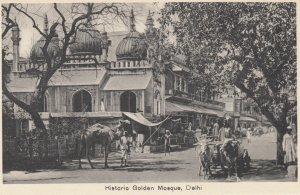 DELHI , India , 1900-10s ; Golden Mosque