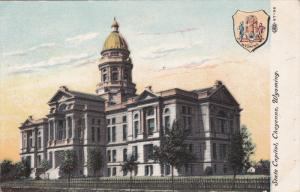 Coat Of Arms, State Capitol, CHEYENNE, Wyoming, 1900-1910s