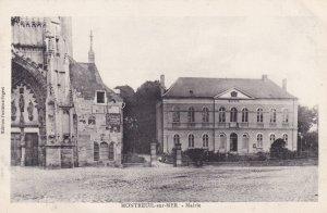 MONTREUIL SUR MER, Pas De Calais, France, 1900-1910s; Mairie