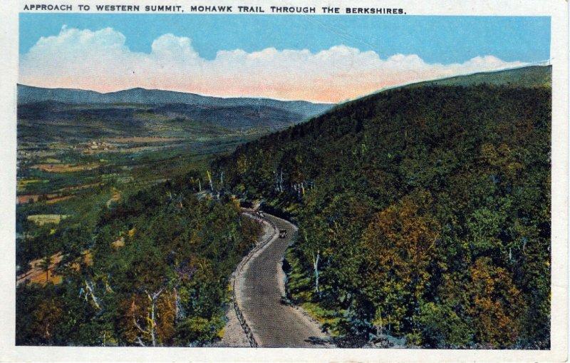 [ Tichnor ] US Massachusetts Mohawk Trail - Approach To Western Summit
