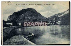 Old Postcard Grenoble Isere L and helmet Neron