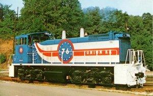 Union Railroad Locomotive - USA Bicentennial Design