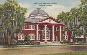 First Methodist Church Sanford Florida 1949