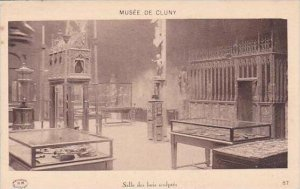 France Musee de Cluny Salle des bois sculptes