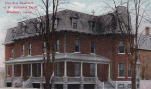 WINDSOR , Ontario , Canada, PU-1911 ; Parochial Residence, St Alphonsus Parish