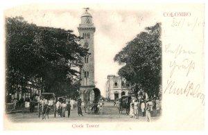 Sri Lanka  Colombo Clock Tower