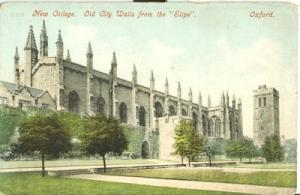 United Kingdom, New College, Old City Walls from the Sli...