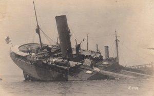 RP: Sunken US Ship , 1918