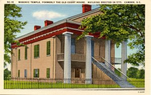SC - Camden. Masonic Temple