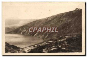 Old Postcard Riesengebirge Grosser Teich Mit Prinz Heinrich Baude