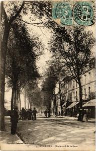 CPA POITIERS - Boulevard de la Gare (255704)