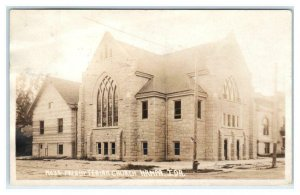 RPPC  NAMPA, Idaho ID ~ PRESBYTERIAN CHURCH 1921 Canyon County Postcard